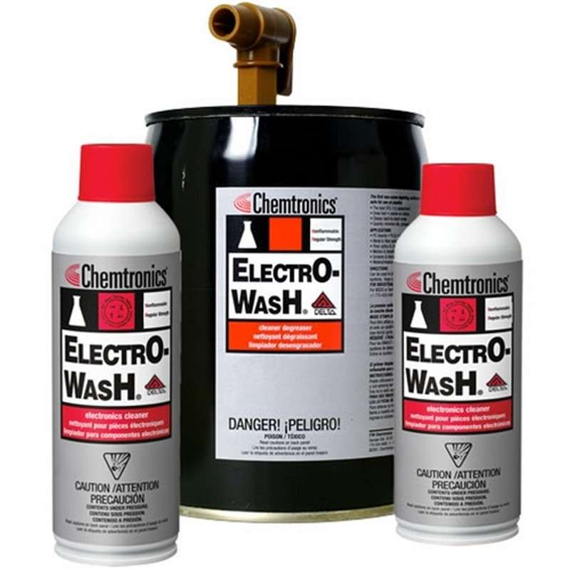 Electro-Wash® VZ Nonflammable Cleaner Degreaser, 53 Gallon Drum