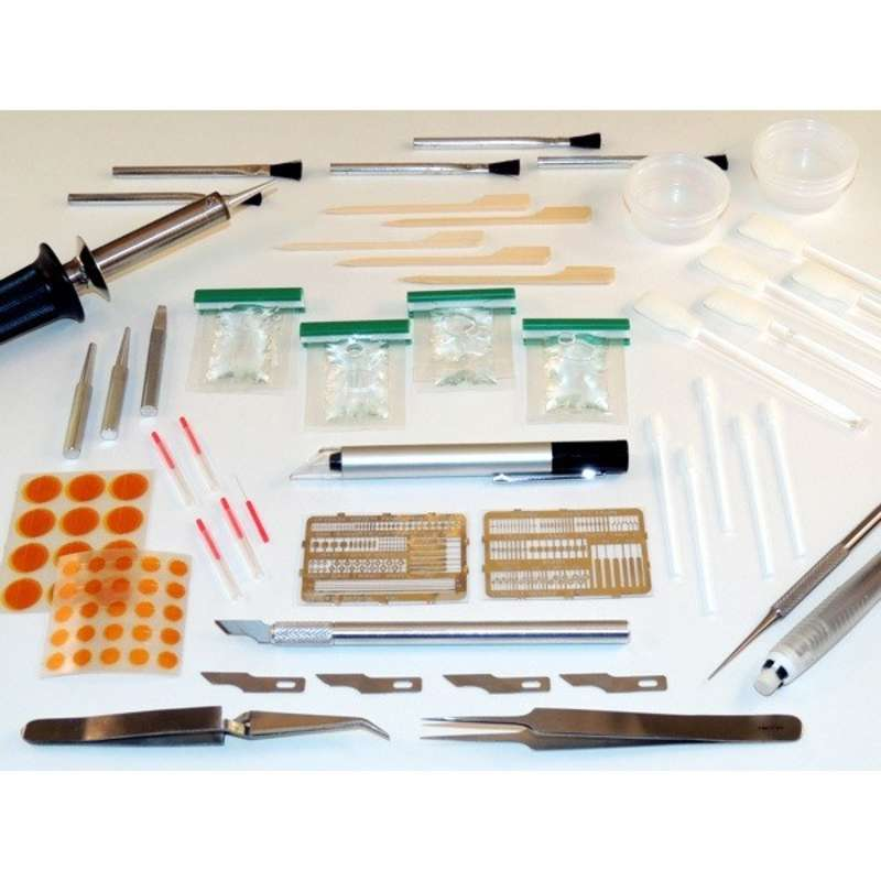 Land/Pad Repair Kit for Damaged Lands, Surface Mount and BGA Pads with ESD-Safe Case