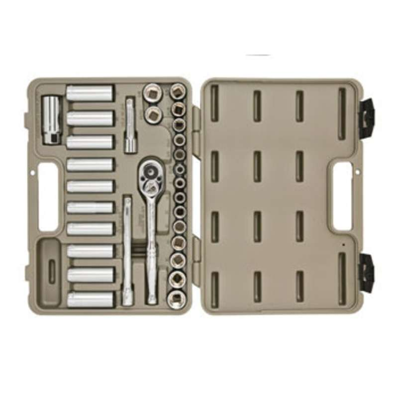 Professional Tool Set with Hard Case, 30 Pieces