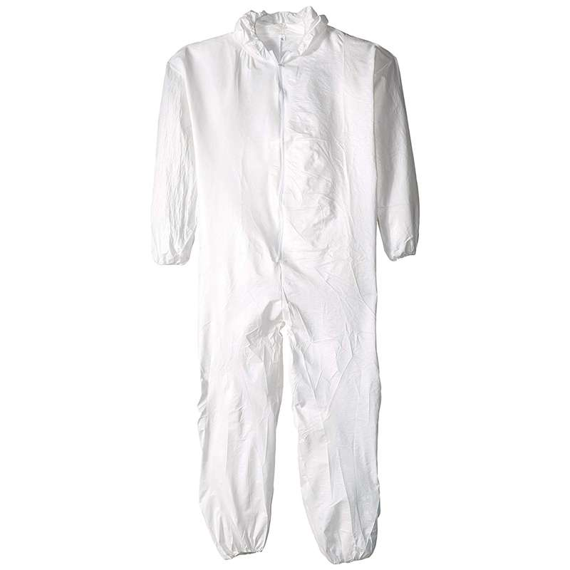 DSP127 Series Disposable Coverall with Hood and Zipper Front, 2XL, 25 per Case