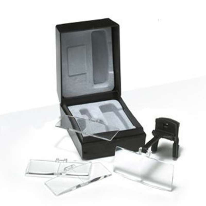 Clip-On Spectacle Magnifiers with 1.7X, 2.0X, 2.5X and 3.0X Magnification Lenses