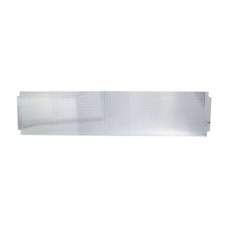 Bulb Shield for Two Tube 15W Fluorescent Task Light, Dove Grey