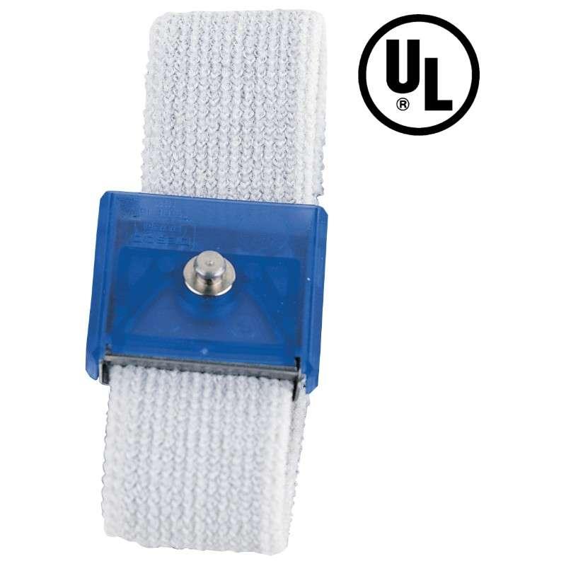 Jewel® Elastic Adjustable Sapphire Fabric Wrist Strap, Band Only