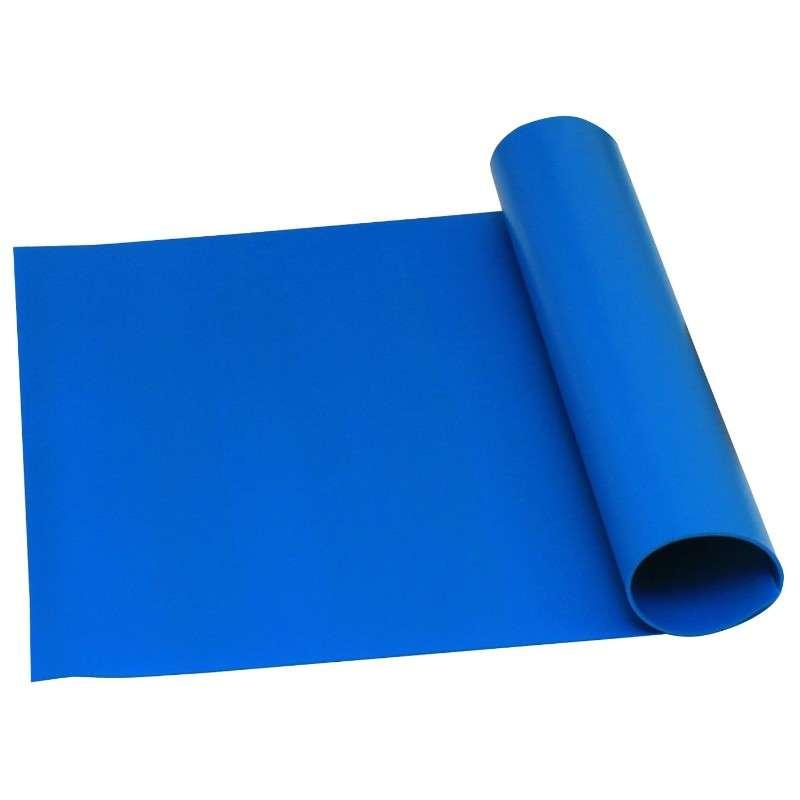 """Statfree Z2 3-Layer Dissipative Vinyl Roll, Blue, 36"""" x 50' x .125"""