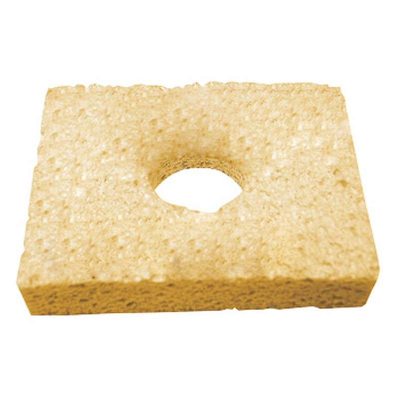 """Soldering Tip Cleaning Sponge with Center Hole, 3-1/4 x 2-1/2"""""""