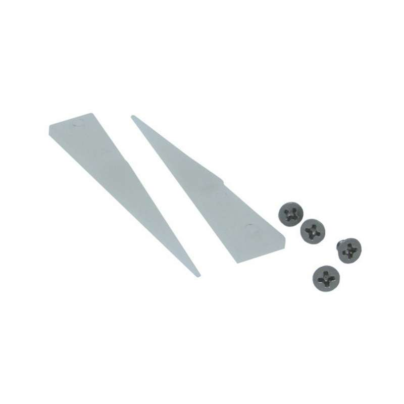 Non-ESD-Safe Chemical Resistant Small Delrin Tips for 159B-RTW Tweezer, 2 per Set