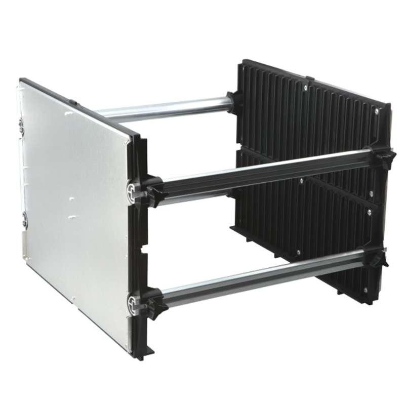 "Karry-All Model 76 Conductive Adjustable Board Rack, 13-1/4 x 9 x 8"""