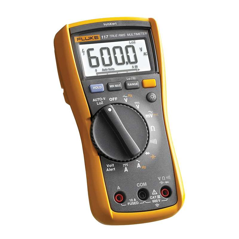 Electricians Multimeter and Clamp Meter Combo Kit, 600V
