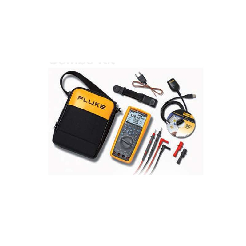Model 289 True-RMS Industrial Logging Multimeter Kit in Soft Case with FlukeView® FVF Software