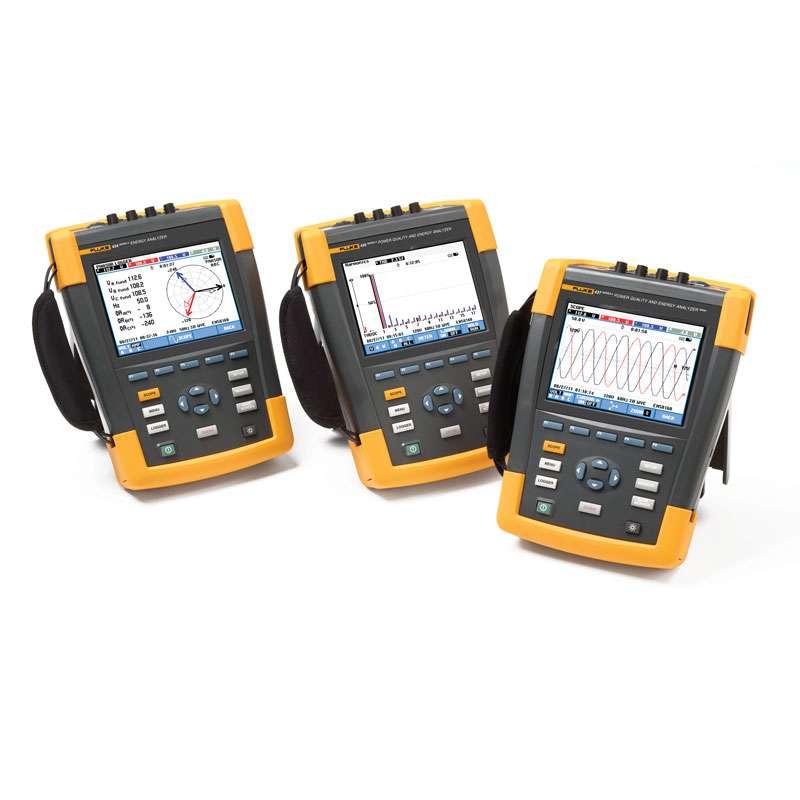 3-Phrase Power Quality and Energy Analyzer, 60 Hz