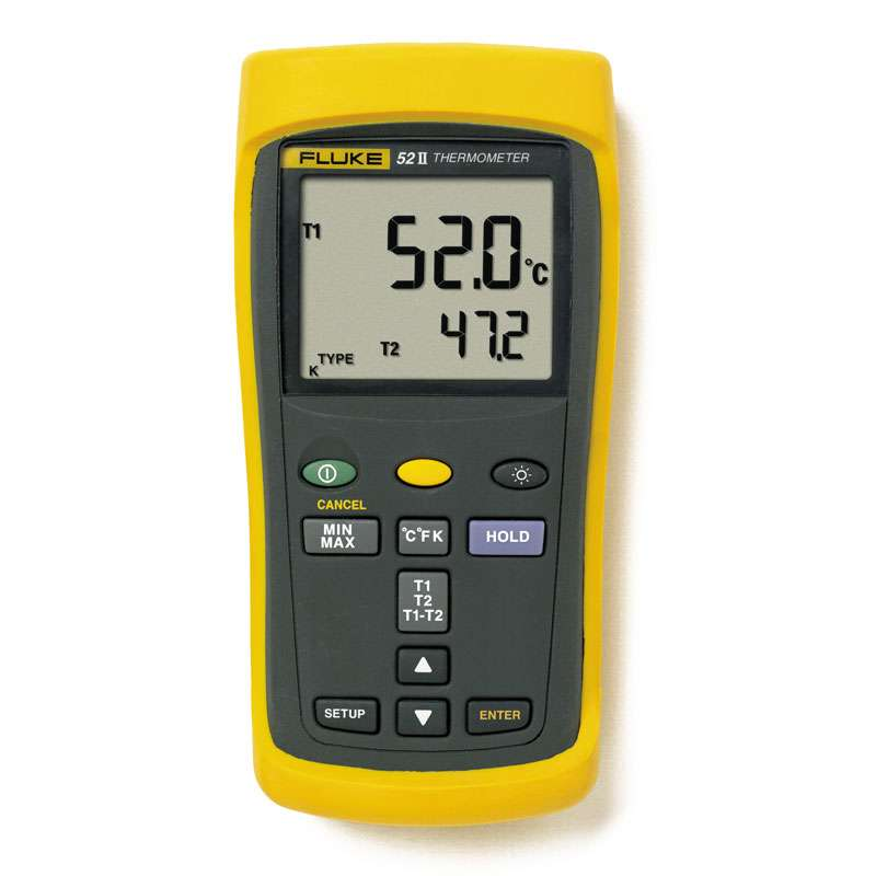 Digital Dual Input Thermometer with 60 Hz Noise Rejection
