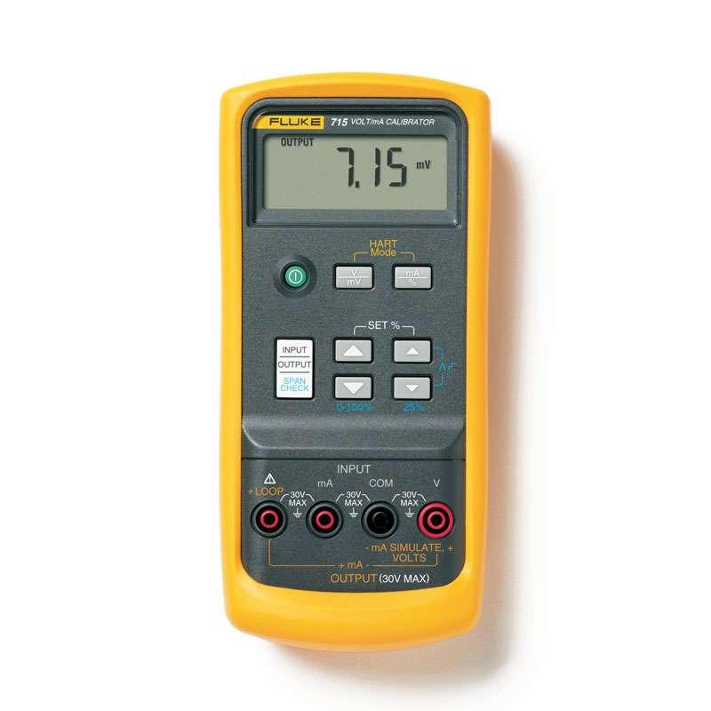 DC Calibrator Volt/mA, 0-10V, o-100mV, 0-24mA