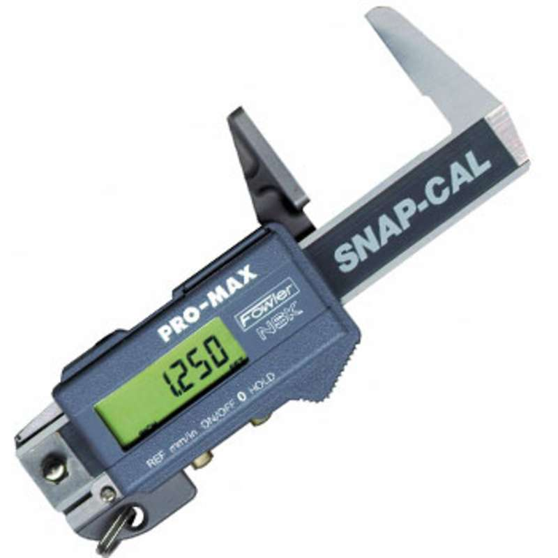 """Snap-Cal Hardened Stainless Steel Electronic Caliper with Large LCD Display and 0-1.25"""" Range"""
