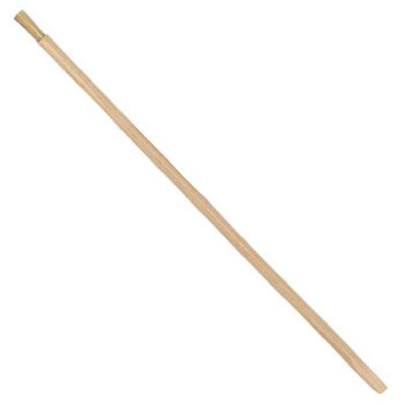 "ESD-Safe Orange Stick Brush with 1/2"" Horse Hair Bristles, 7"" Wood Handle"