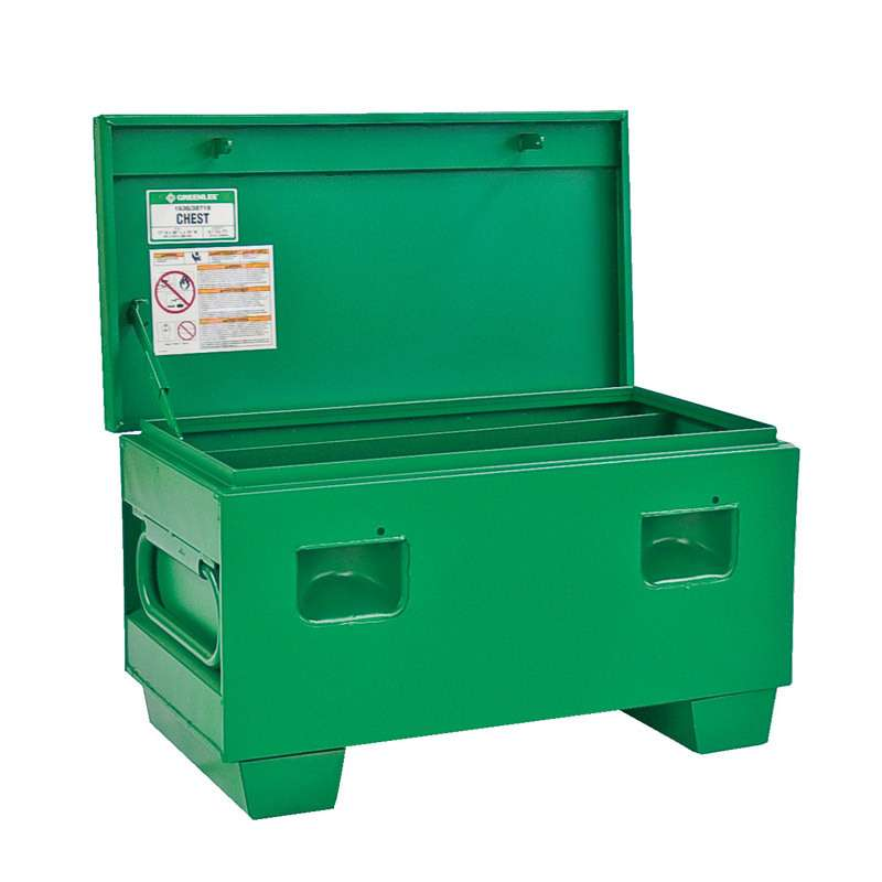Mobile Job Box Storage Chest, 36 x 19 x 17