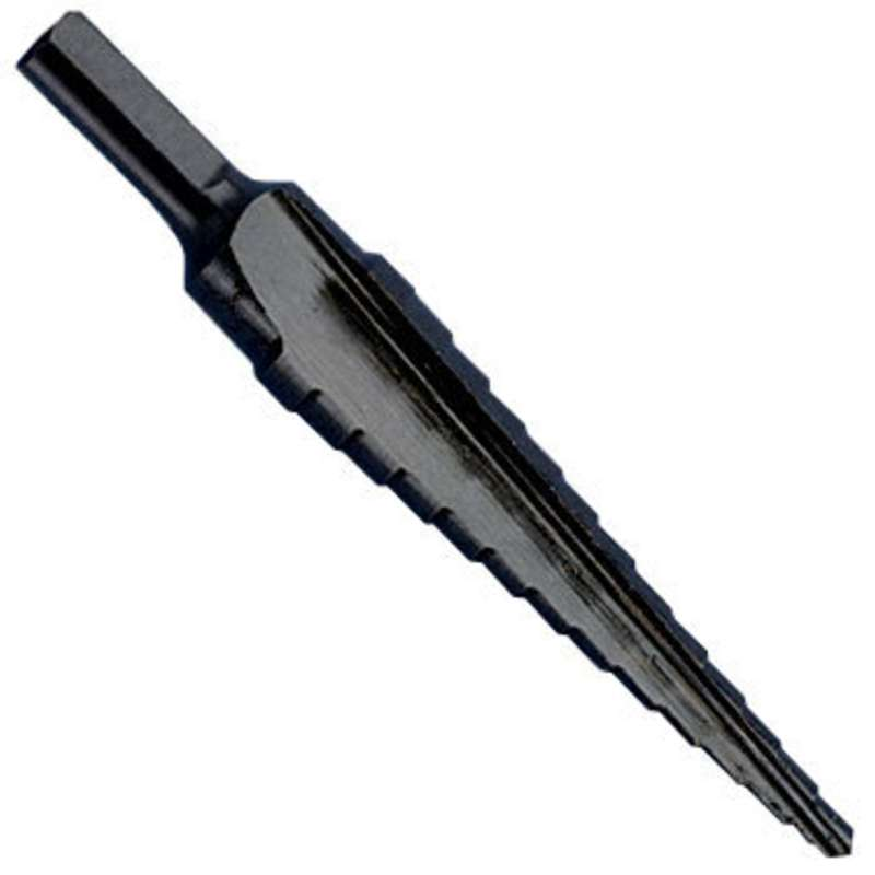 "Kwik Stepper® Multi-Hole Step Bit, 1/8 to 1/2"" Hole Sizes"
