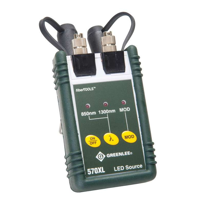 Multi-mode LED Source with SC Interface and Dual Output, 850/1300nm