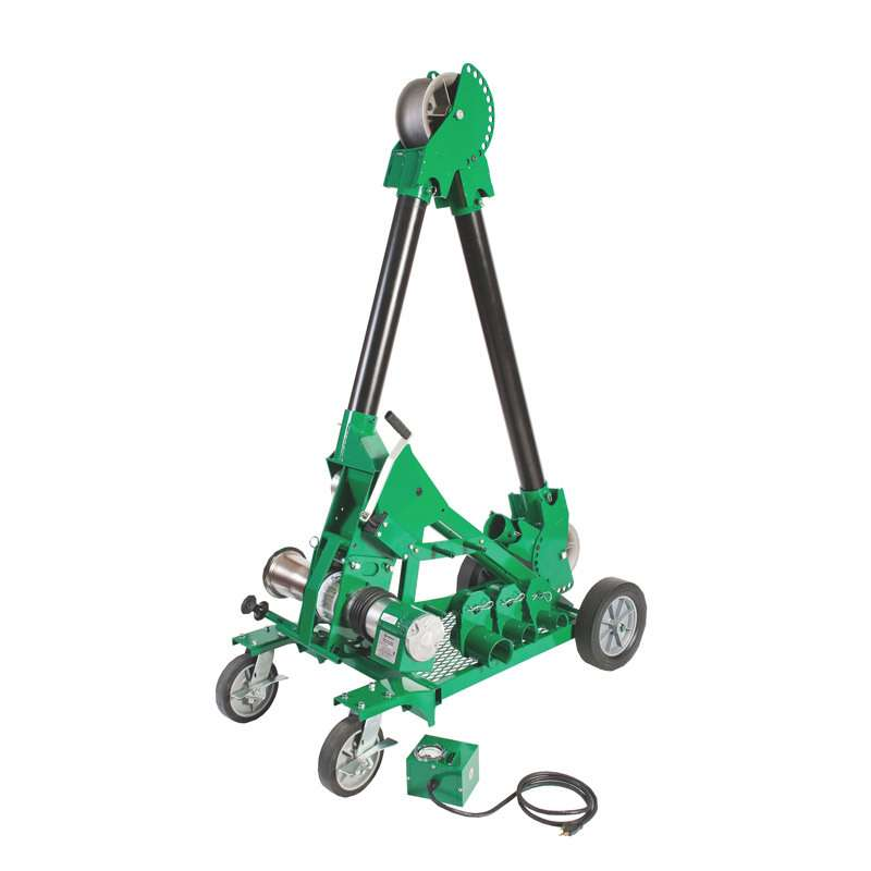 Ultra Tugger™ 8 Cable Puller Deluxe Package with Storage Box, Casters and Mobile VersiBoom, Up to 8,000 lbs