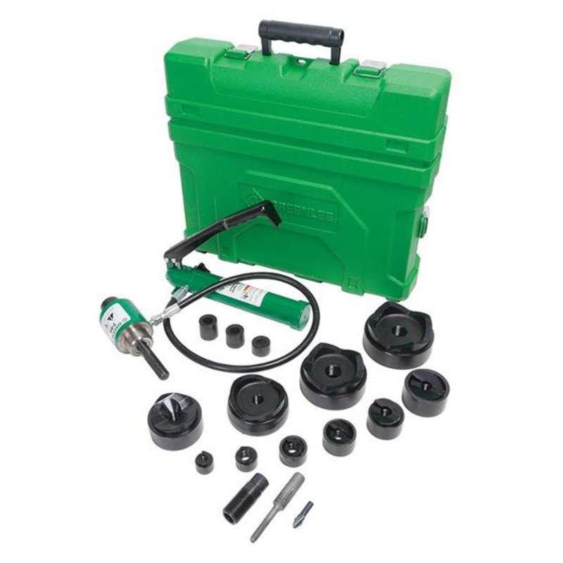 """Slug-Buster® Hydraulic Conduit Punch Driver Kit, Punch Sizes: 1/2"""" to 2"""" and 2-1/2"""" to 4"""""""