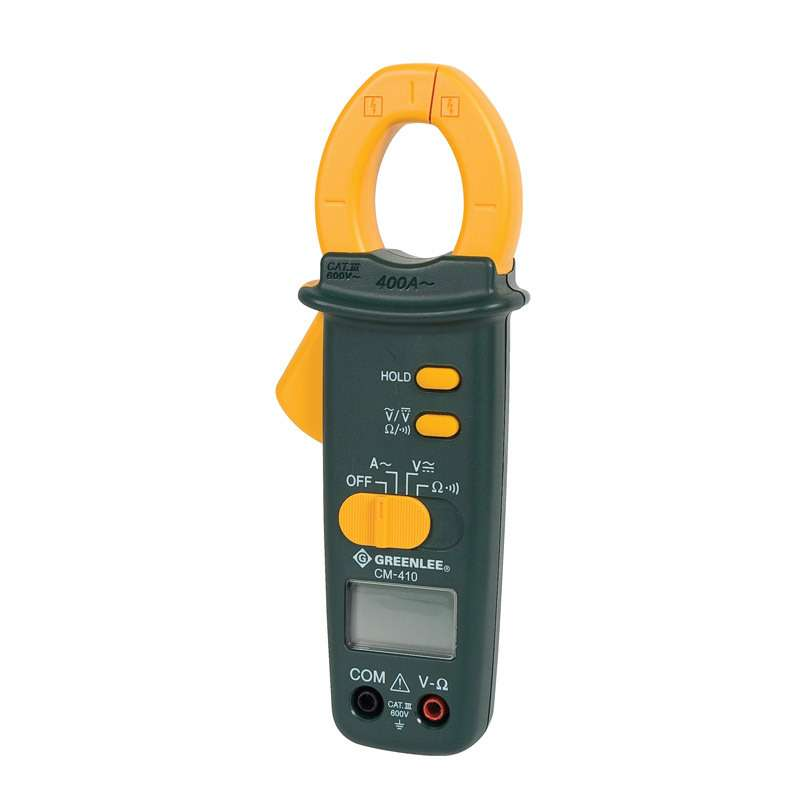 AC/DC Compact 400A Clamp Meter with Auto Power Off