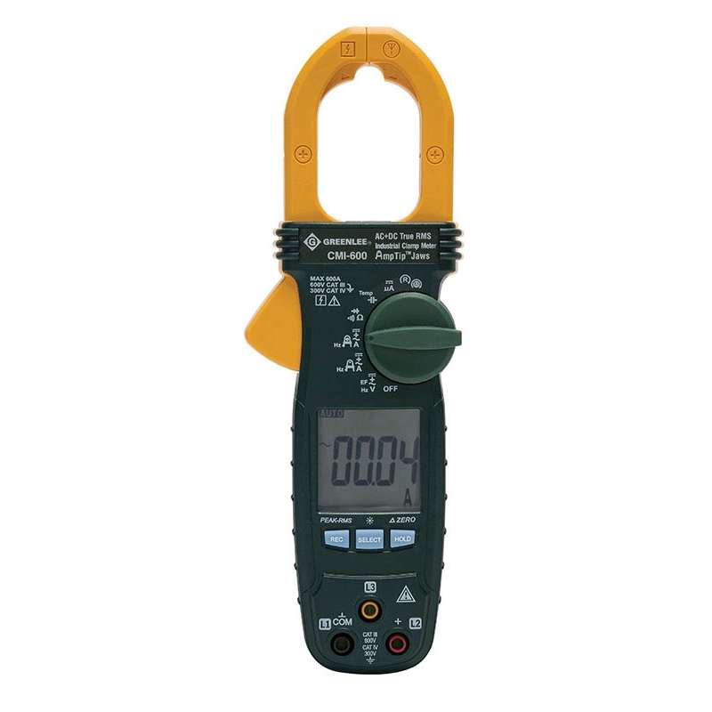 Clamp Meter, Power Source Battery, LCD