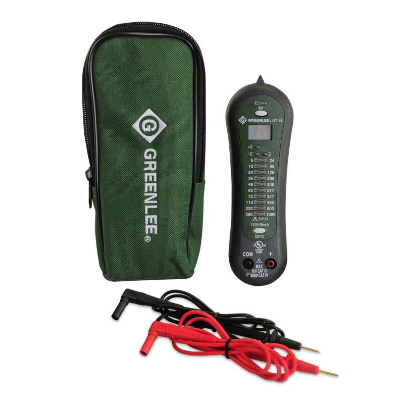 Voltage and Continuity Tester up to 1000 Volts GFCI Test Capability with Audible