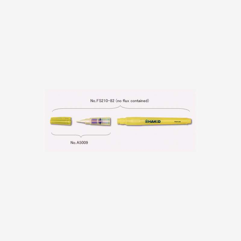 Brush Tip With Cap, 5 Pack, For FS-210