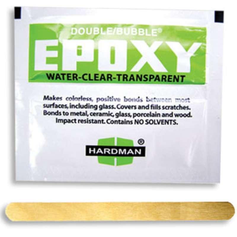 Double/Bubble® Green Impact Resistant Epoxy Adhesive, 100 Packs per Carton