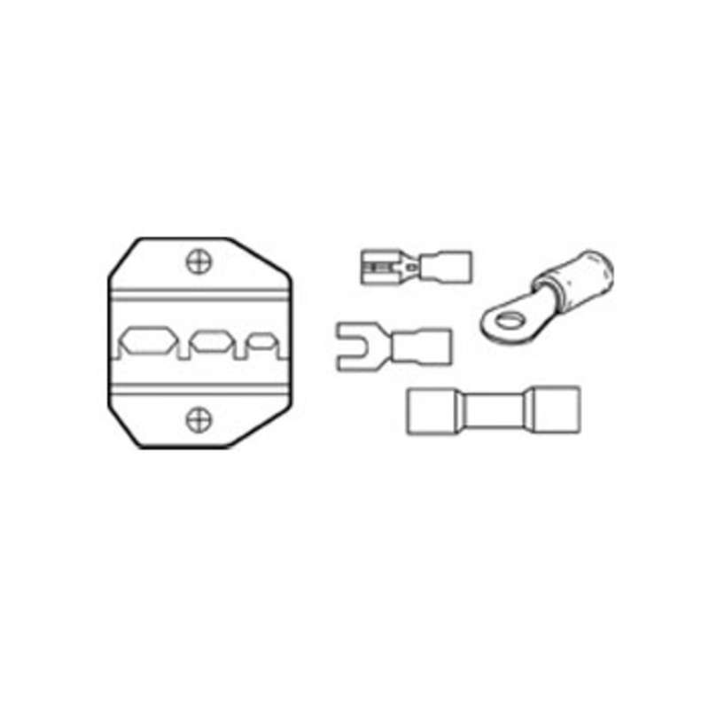 Insulated Terminal 10-22 AWG Die Set for Crimpmaster? Crimpers