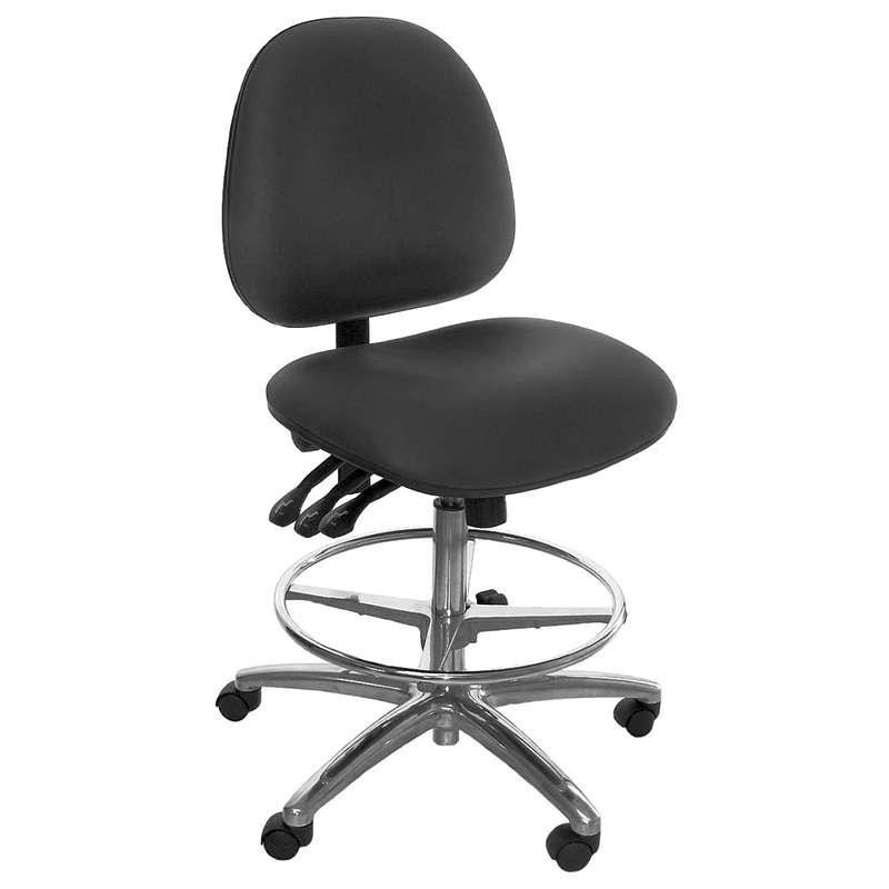 Industrial Seating AE20W-FLC-V-BLACK