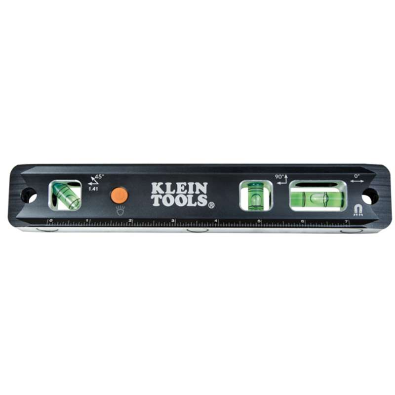 """9"""" Lighted Electrician Torpedo Level, 9"""" Long"""