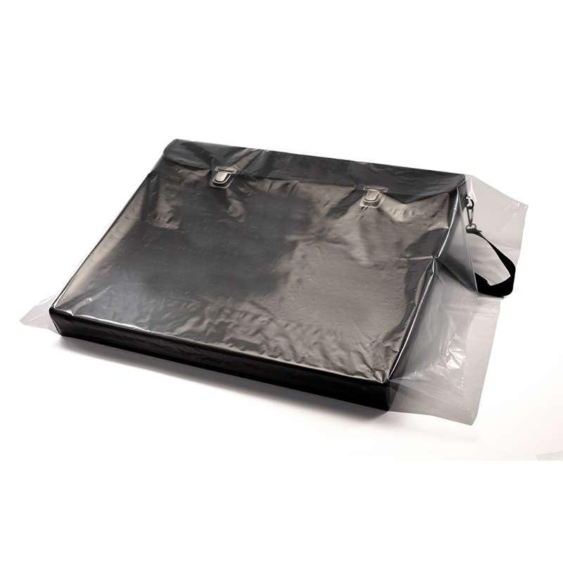 Layflat LDPE Resin Premium Bag, 2 Mil, 500 per Case