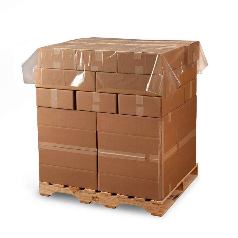 Clear Polyethylene Sheeting/ Pallet Top Sheet, 1.5 Mil, 600 per Case