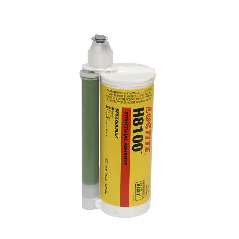 H8100™ Speedbonder™ Structural Adhesive, Green, 490mL Dual Cartridge