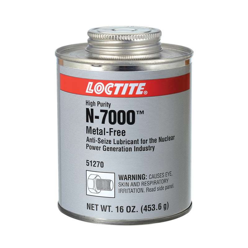 N-7000™ High Purity Metal-Free Anti-Seize 1 lb., Brush Top