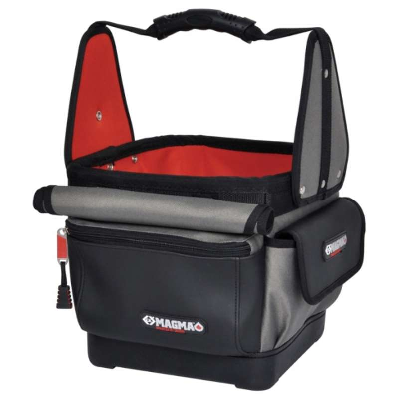 """Technician's Tote with 27 Pockets and Holders, 11-7/16 x 11-7/8 x 15-3/8"""""""
