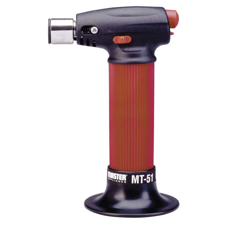 Microtorch Butane Pocket Size 2 hour Run Time 2500F with Child Proof Lock