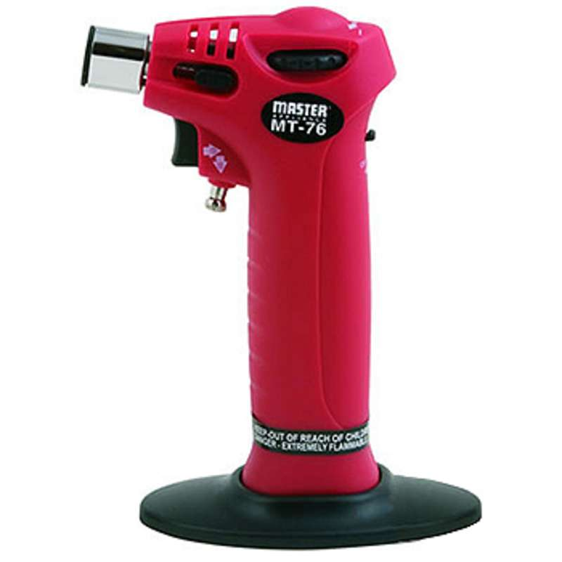 Professional Hand Held or Table Top Butane Trigger Torch, Soldering Iron, and Flameless Heat Tool