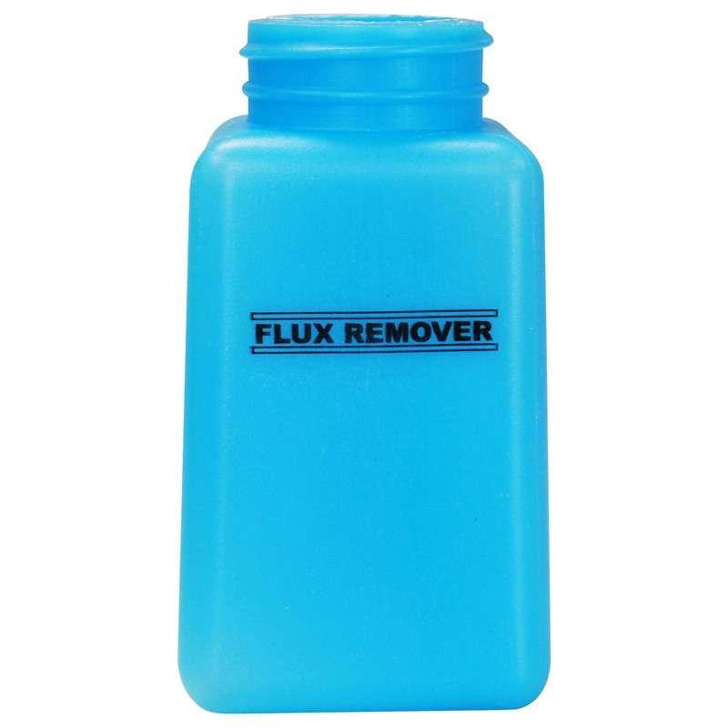 ESD-Safe Blue durAstatic™ Flux Remover Solvent Dispenser Bottle without Pump Top, 6 oz