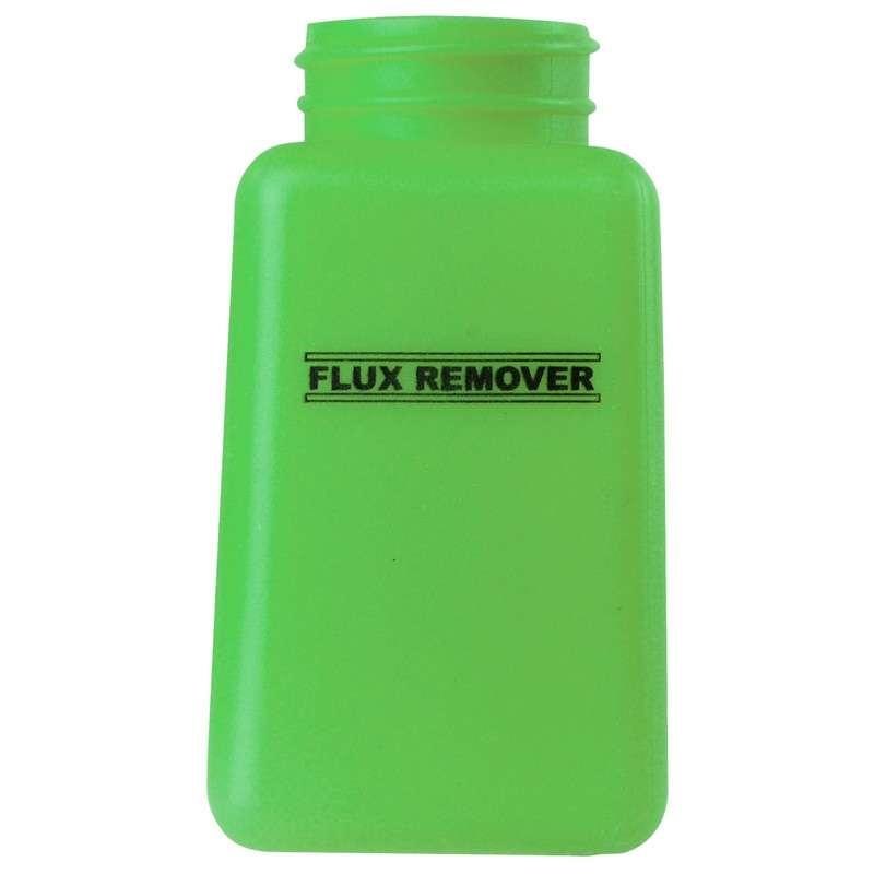 ESD-Safe Green durAstatic™ Flux Remover Solvent Dispenser Bottle without Pump Top, 6 oz