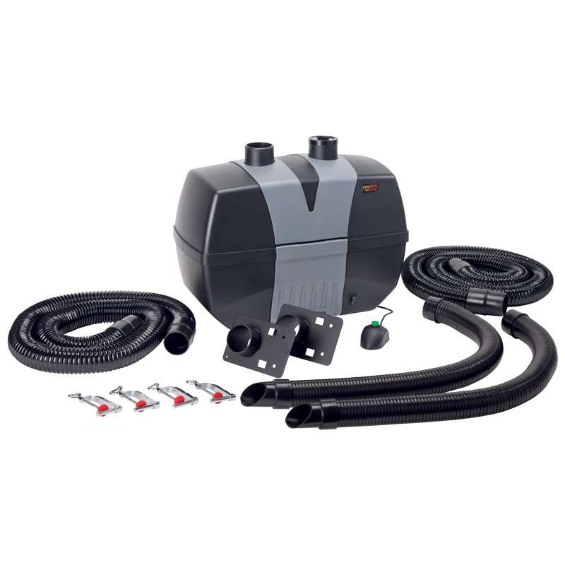 BVX Series ESD Fume Extractor with Two BVX-ARM-K1 Arms and a Pre-HEPA-Gas Filter