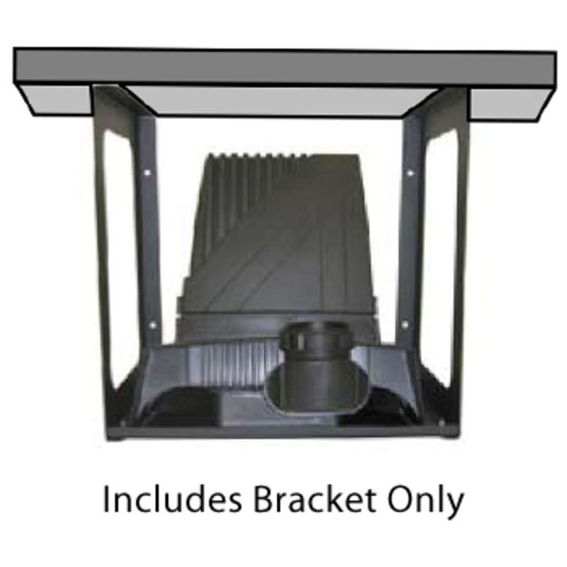 Under Bench Mounting Bracket for BVX-100 Series Fume Extractors