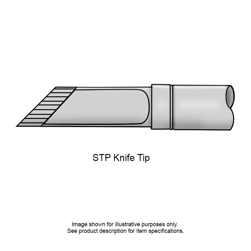 STP Series Drag Knife Tip Cartridge, Temperature Sensitive for MFR-HSR Iron, 5.00mm