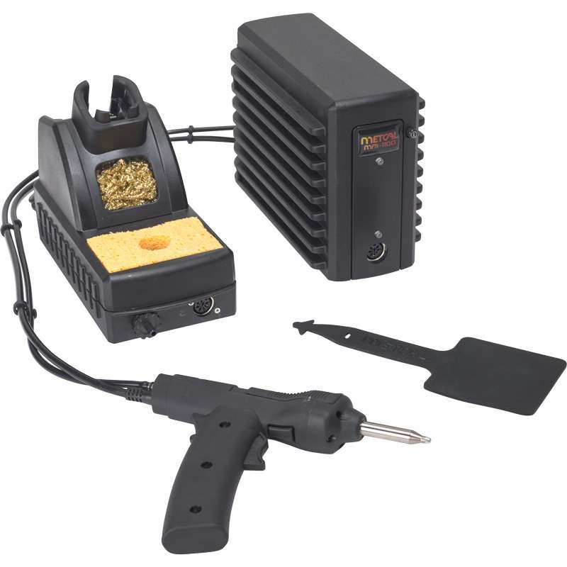 MFR Single Output Desolder System with Pistol Grip Iron and Workstand, Requires External Air
