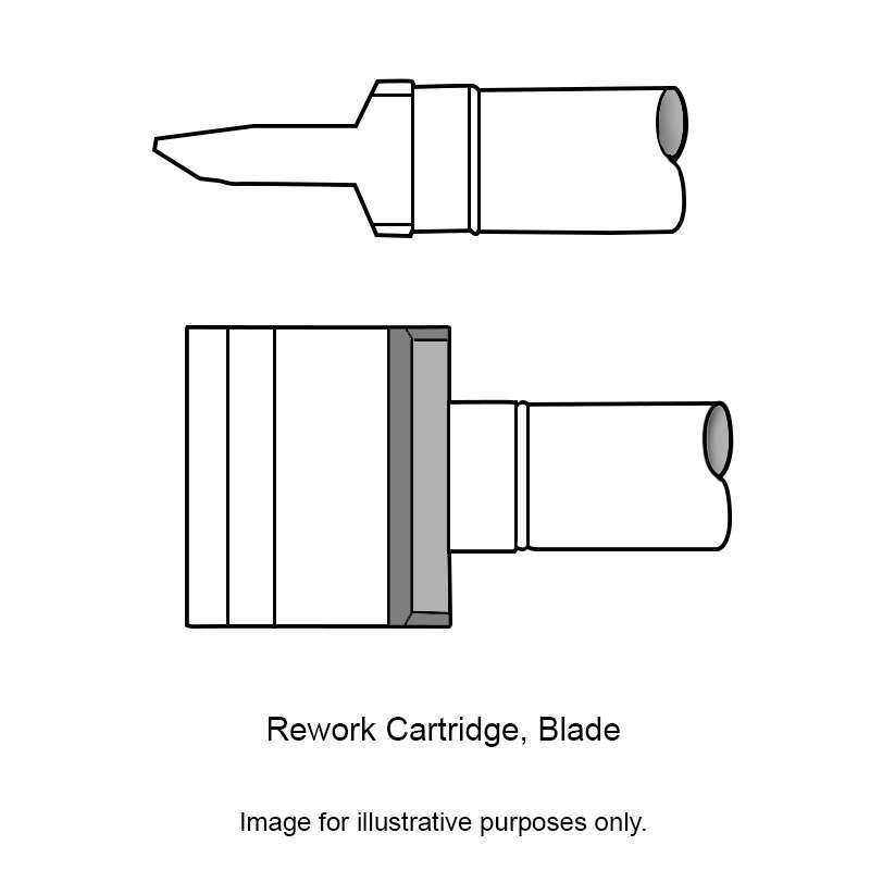 Ceramic Blade Solder Tip, CCV Series for MFR-H2-ST, 40.00mm