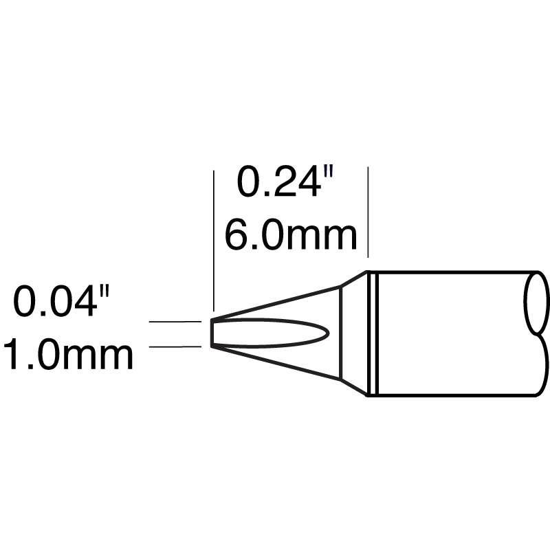 Metcal CVC Power Chisel Cartridge