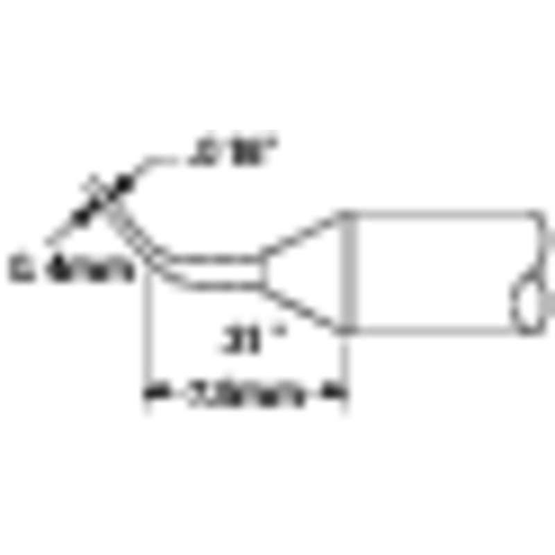 Metcal CVC Reach Bent Conical Cartridge