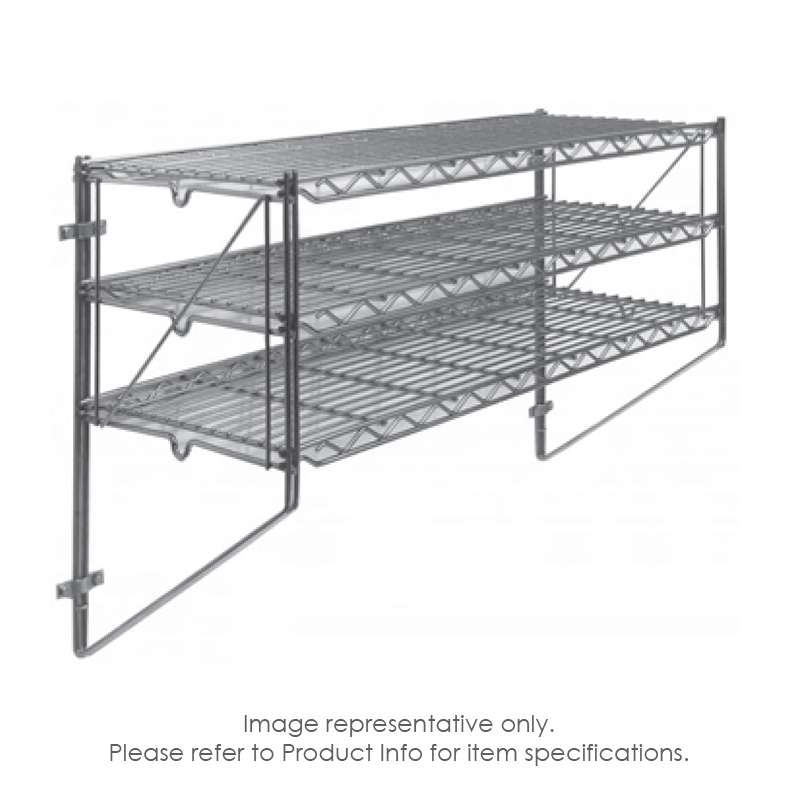"Erecta Shelf® Wall Kit, 48""W x 12""D x 21""H"