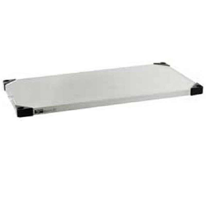 "Super Erecta® Standard Stainless Steel Solid Shelf, 18 x 24"""