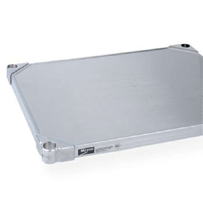 "Super Erecta Shelf 24 x 30"" Solid Stainless Steel"